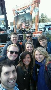 selfie at GameDay!